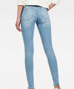 G-Star RAW Skinny-fit-Jeans »Lynn Mid Super Skinny« in coolen Used-Waschungen blau
