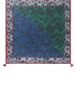 Betty Barclay Tuch »mit Blumenprint« blau