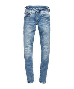 G-Star RAW Skinny-fit-Jeans »Lynn D-Mid Waist Super Skinny« mit leichten Destroyed-Effekten