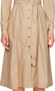 TOMMY HILFIGER Hemdblusenkleid »LEA DRESS LS« mit durchgehender Knopfleiste