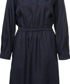 G-Star RAW Hemdblusenkleid »Ogee straight flare dress« mit Gummizug in der Taille