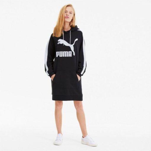 PUMA Sweatkleid »Classics T7 Damen Kleid mit Kapuze«