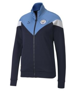 PUMA Softshelljacke »Man City Iconic MCS Damen Trainingsjacke«