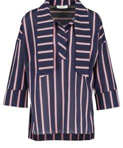 GERRY WEBER Bluse 3/4 Arm »Oversize Bluse mit Schluppe« bunt