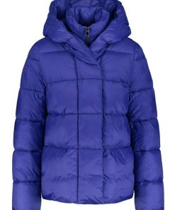 GERRY WEBER Outdoorjacke nicht Wolle »Steppjacke mit Daunenfeeling« blau