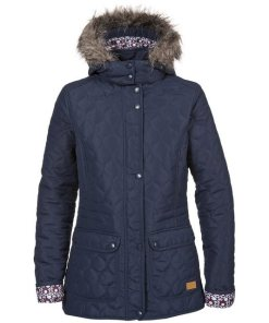 Trespass Steppjacke »Damen Steppmantel Jenna« blau