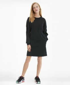 PUMA Sweatkleid »Downtown Statement Damen Kleid«
