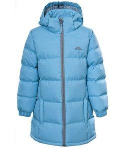 Trespass Steppjacke »Kinder Mädchen / Winterjacke Tiffy« blau