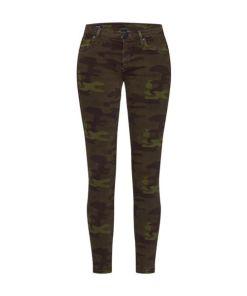 True Religion Jeans 'HALLE CAMO' braun / grün
