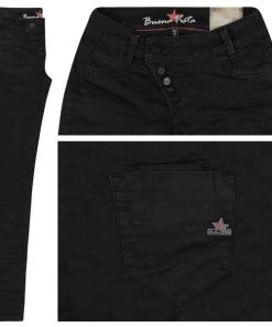 Buena Vista Jeans Kim Stretch Twill black