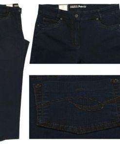 Anna Montana Angelika Röhre Jeans blue black