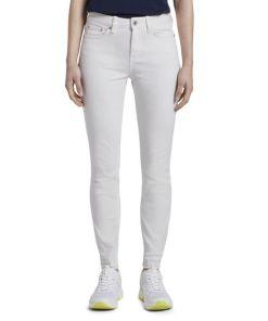 TOM TAILOR DENIM Damen Nela Extra Skinny Jeans in Weiß, weiß, Gr.28