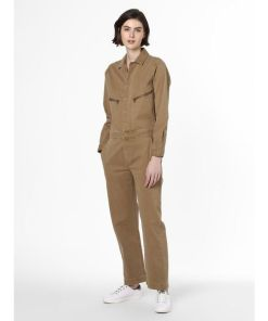 Marc O'Polo Damen Jumpsuit beige