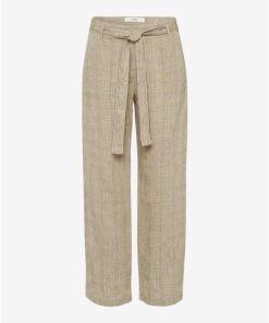 BRAX Damen Leinenhose Style Maine S beige Gr. 36