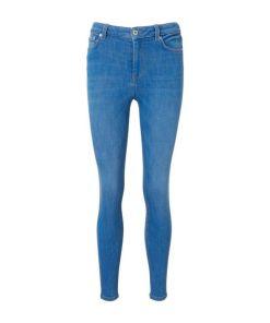 TOM TAILOR DENIM Damen Janna Extra Skinny Jeans, blau, Gr.28