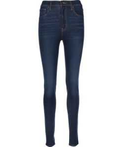 LEVI'S Jeans ' Mile High Super Skinny W ' blau
