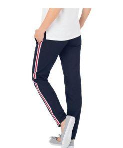 Trigema Jogginghose mit kontrastfarbigen Streifen