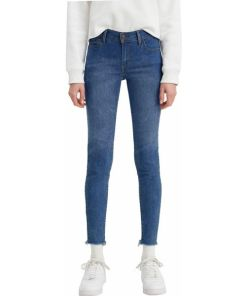 LEVI'S Jeans ' 710 Super Skinny W ' blau / blue denim