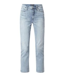 Cropped Slim Fit Jeans mit Stretch-Anteil Modell 'Calley