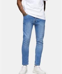 Skinny Stretch-Jeans, blau, BLAU