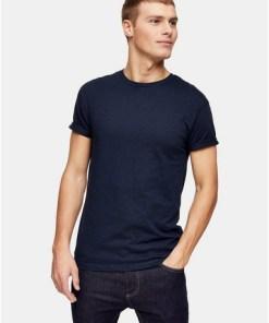 NAVY BLAUT-Shirt mit Noppenstruktur, navyblau, NAVY BLAU