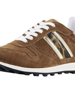 Heine Sneaker im Animal-Look, braun