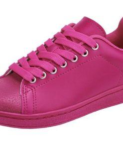Heine Sneaker in sommerlichen Farben, rosa