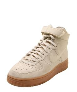 Nike Sportswear Sneaker High 'air force 1' hellbeige