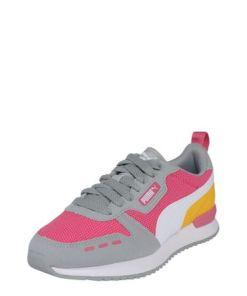 PUMA Sneaker 'PUMA R78' orange / grau / pink