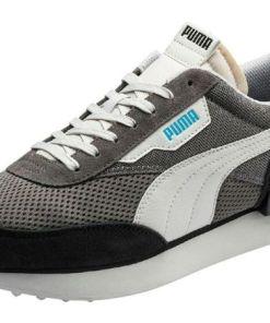 PUMA Sneaker 'Stream On' dunkelblau / grau / weiß