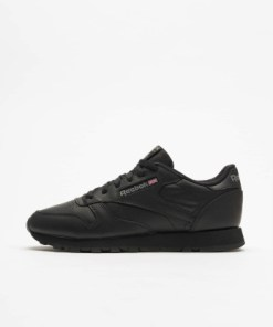 Reebok Frauen Sneaker CL Leather in schwarz