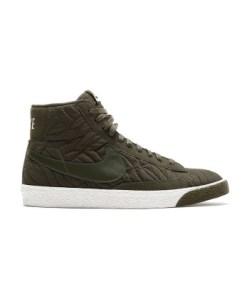 Nike Frauen Sneaker Blazer Mid Premium SE in grün