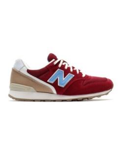 New Balance Frauen Sneaker Wr996hf in rot