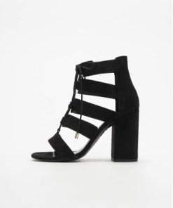 New Look Frauen Sandalen Relish 3 SDT Ghilly Bloc in schwarz