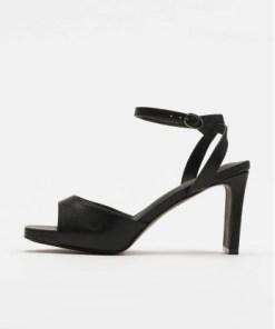 NA-KD Frauen Sandalen Heeled Strap in schwarz