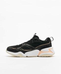Puma Frauen Sneaker Nova 2 Suede in schwarz