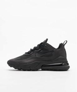 Nike Frauen Sneaker Air Max 270 React in schwarz