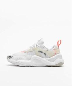 Puma Frauen Sneaker Rise Contrast in weiß