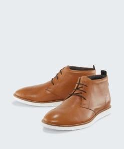 Leder-Boot Cairo, cognac