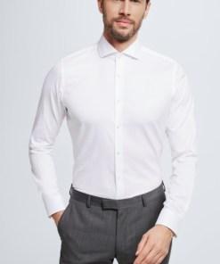 Hemd Sereno, weiß gemustert