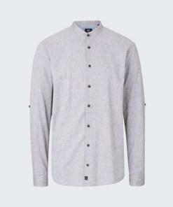 Baumwoll-Leinen-Hemd Conell, washed beige