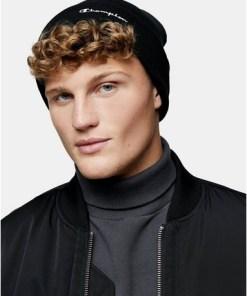 Champion Mütze, schwarz, SCHWARZ