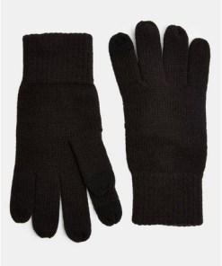 Touchscreen-Handschuhe, schwarz, SCHWARZ