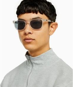 TRANSPARENTQUAY 'Hardwire Mini' Sonnenbrille, TRANSPARENT