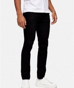 Stretch Slim Jeans, schwarz, SCHWARZ