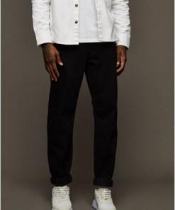 Jeans in lockerer Passform, schwarz, SCHWARZ