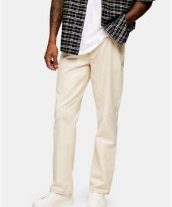 Jeans im Skater-Look, cremeweiß, CREME