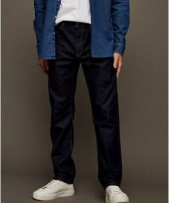 GROBGerade Jeans aus unbehandeltem Denim, GROB