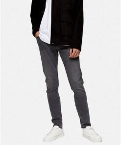 LEE Skinny Stretch-Jeans, grau, GRAU