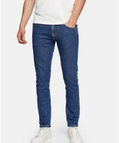 LEE enge Jeans, blau, BLAU
